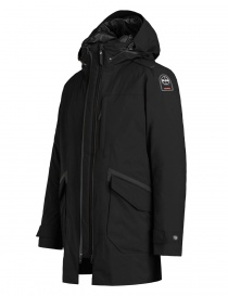 Parajumpers Toudo black parka coat