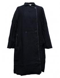 Womens coats online: Casey Casey navy coat