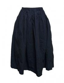 Casey Casey cotton blue skirt 09FJ43-DOUBLE-PETROL order online