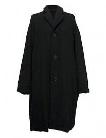 Casey Casey black coat 09FM48-CASH-BLK order online