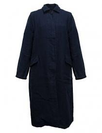 Womens coats online: Casey Casey workwear style navy coat