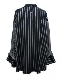Rito oversize blue stripes shirt