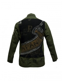Camicia stampata Rude Riders con patch