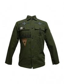 Camicie uomo online: Camicia stampata Rude Riders con patch