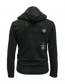 Rude Riders dark gray hooded sweater