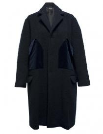 Miyao wool blue coat MN-C-02-COAT-NAVY order online