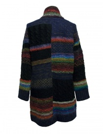 Cappotto Fuga Fuga multicolor in lana