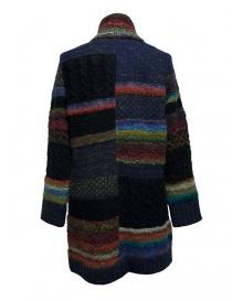 Fuga Fuga multicolor wool coat
