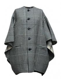 Cappotti donna online: Cappotto Beautiful People a quadri colore nero