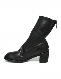 Guidi M88 black leather ankle boots