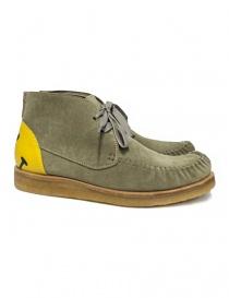 Scarpa Kapital Wallaby in pelle scamosciata colore grigio K1709XG564-BEIGE-SHO order online
