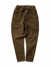 Kapital brown trousers with elastic band K1709LP801-BROWN-PANTS order online