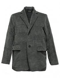Mens suit jackets online: Casey Casey grey velvet jacket