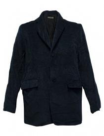 Mens suit jackets online: Casey Casey navy velvet jacket