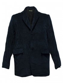 Giacca Casey Casey in velluto colore navy 09HV145-VEL-NAVY order online