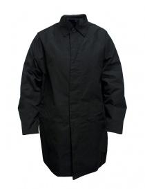 Cappotto Casey Casey in cotone cerato colore nero online