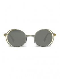 Occhiale da sole Kuboraum Maske H11 in metallo colore argento oro online