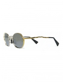 Kuboraum Maske H11 silver gold metal sunglasses