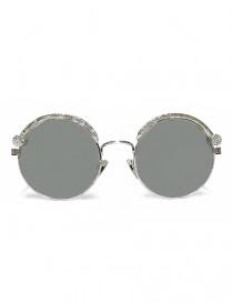 Occhiale da sole Kuboraum Maske Z1 in metallo colore argento online