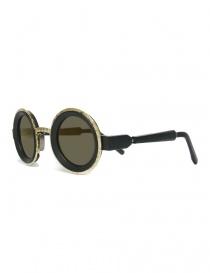 Occhiale da sole Kuboraum Maske Z3 colore nero opaco e oro