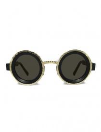Occhiale da sole Kuboraum Maske Z3 colore nero opaco e oro online