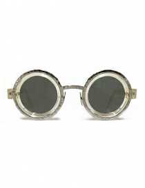 Occhiale da sole Kuboraum Maske Z3 in acetato trasparente e metallo online
