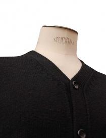 Comme des Garcons Homme Plus black cardigan