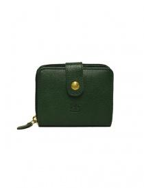 Portafoglio in pelle Il Bisonte colore verde C0960-P-245-VERDE order online