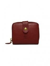 Portafoglio in pelle Il Bisonte colore rosso C0960-P245-ROSSO order online