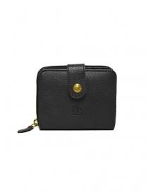 Portafoglio in pelle Il Bisonte colore nero C0960-P-153-NERO order online