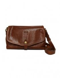 Il Bisonte walnut cross body leather bag online