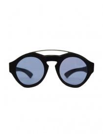 Occhiali online: Occhiale Paul Easterlin Woody nero con lente blu