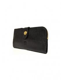 Il Bisonte Alida black leather wallet