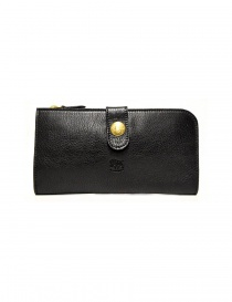 Il Bisonte Alida black leather wallet online