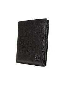 Il Bisonte black leather classic wallet