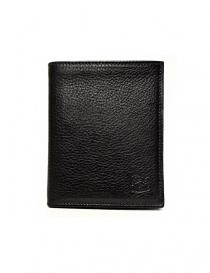 Il Bisonte black leather classic wallet online