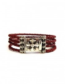 Elfcraft Sprouts Star silver and leather bracelet online