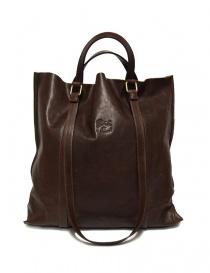 Il Bisonte brown leather bag online