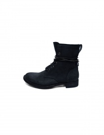 Tre Chiodi black leather boots