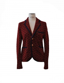 Womens suit jackets online: Haversack red jacket