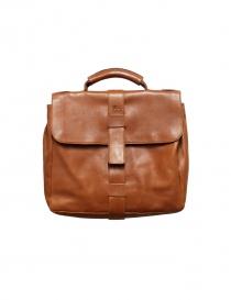 Light brown leather Il Bisonte briefcase D0284 order online
