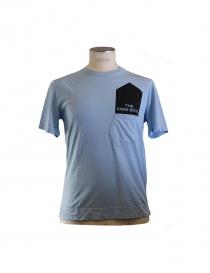T-shirt Golden Goose colore azzurro online
