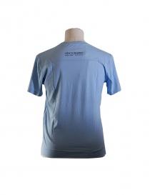 T-shirt Golden Goose colore azzurro