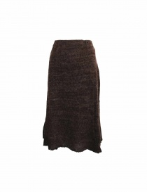 Vlas Blomme brown skirt 11502235BROW order online