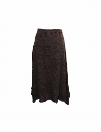 Vlas Blomme brown skirt
