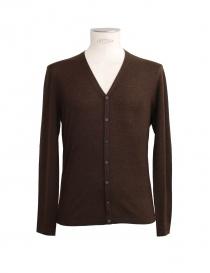 Adriano Ragni brown cardigan 161800401RG order online