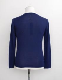 Adriano Ragni blue V-neck pullover