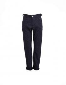 White Mountaineering navy trousers WM1273420NAV order online