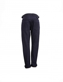 White Mountaineering navy trousers