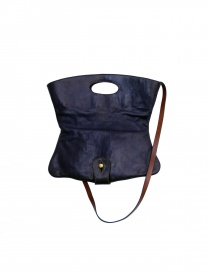 Lily/brown/lilac bag Henry Cuir Meli Melo